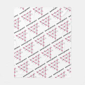Baryon Decuplet (Particle Physics) Fleece Blanket