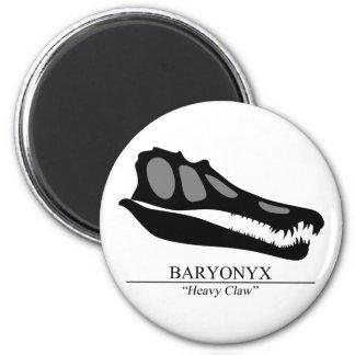 Baryonyx Skull Magnet