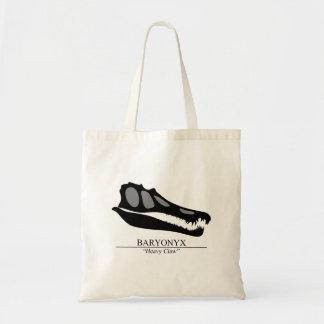 Baryonyx Skull Tote Bag