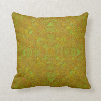 Bas-Relief Citrus Mandala Pillow