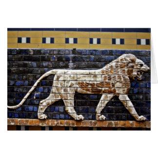 Bas Relief, Ishtar Lion Gate - Istanbul Card