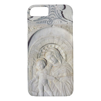 Bas-relief of a Madonna and Child (marble) iPhone 7 Case
