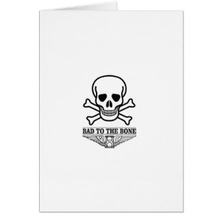 bas to the bone death card