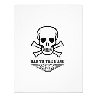 bas to the bone death customized letterhead