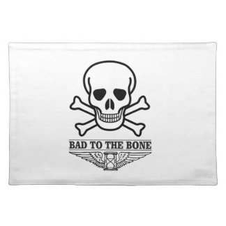 bas to the bone death placemat