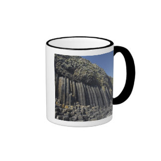 Basalt Columns by Fingal's Cave, Staffa, off Ringer Coffee Mug