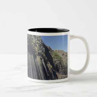 Basalt Columns by Fingal's Cave, Staffa, off Two-Tone Coffee Mug