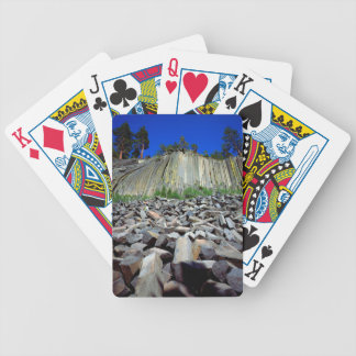 Basalt Formations of Devils Postpile Bicycle Playing Cards