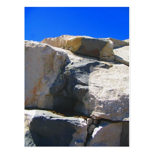 Basalt Rock Dike Geology Postcard
