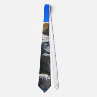 Basalt Rock Dike Necktie