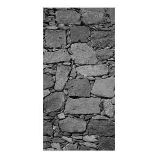 Basalt wall picture card