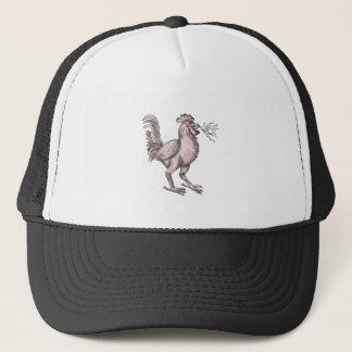 Basan Breathing Fire Tattoo Trucker Hat