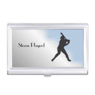 Basball Batter Business Card Holder