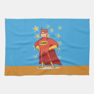 BASE_24x16_HORIZONTAL Grandpa Superhero, Grandpare Kitchen Towel