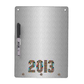 Base argentée d'étincelle du chrome 2013 tableaux blancs  effaçables à sec