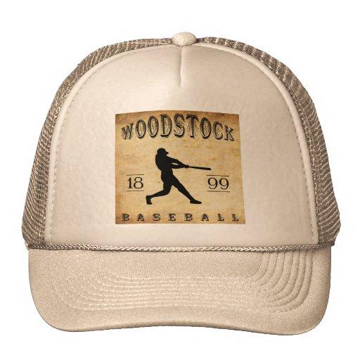 Base-ball 1899 de Woodstock Ontario Canada Casquettes