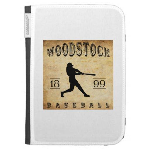 Base-ball 1899 de Woodstock Ontario Canada Coque Folio Kindle