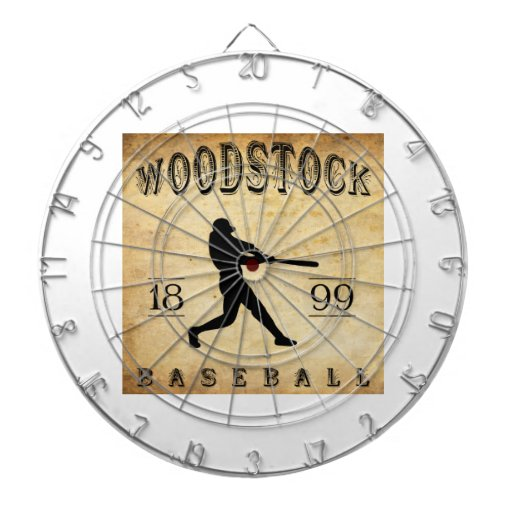 Base-ball 1899 de Woodstock Ontario Canada Jeux De Fléchettes