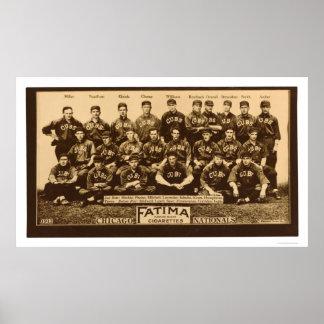 Base-ball 1913 de Chicago Cubs Posters