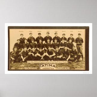 Base-ball 1913 de Cincinnati Reds Posters