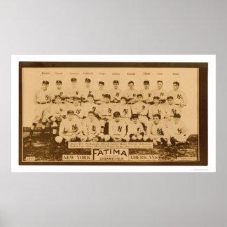 Base-ball 1913 de New York Yankees Posters