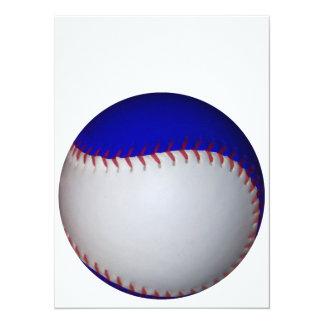 Base-ball/base-ball blancs et bleus