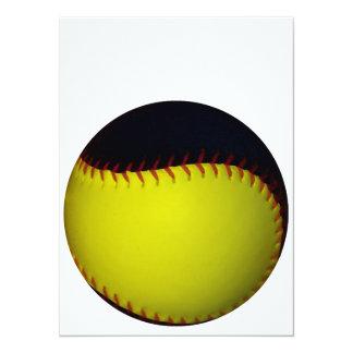 Base-ball/base-ball jaunes et noirs