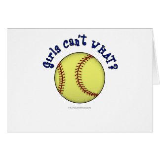 Base-ball-Bleu Carte De Vœux