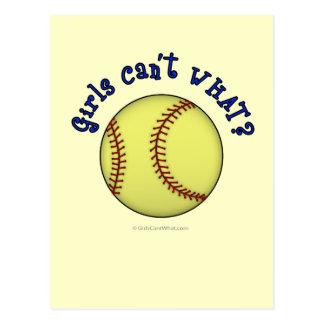 Base-ball-Bleu Carte Postale