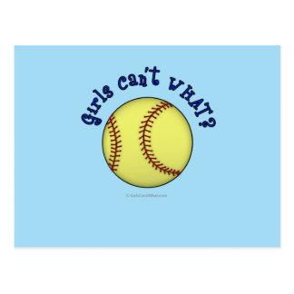 Base-ball-Bleu Cartes Postales