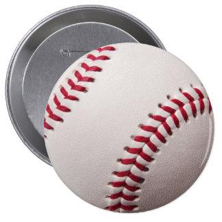 Base-ball - modèle d arrière - plan de base-ball d badge avec épingle