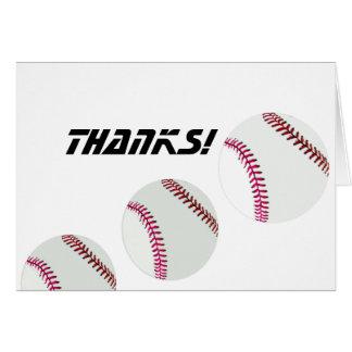 Base-ball ou base-ball carte de correspondance