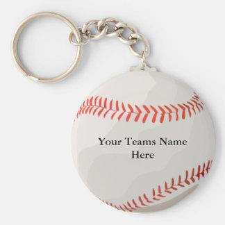Base-ball personnalisé Keychains Porte-clefs