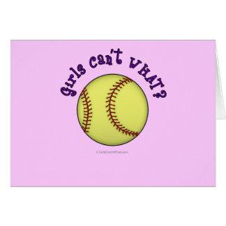 Base-ball-Pourpre Carte De Vœux