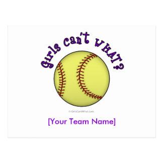 Base-ball-Pourpre Carte Postale