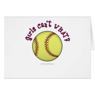 Base-ball-Rose Carte De Vœux