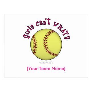 Base-ball-Rose Carte Postale