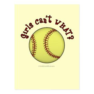 Base-ball-Rouge Carte Postale