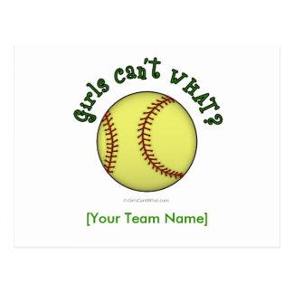 Base-ball-Vert Cartes Postales