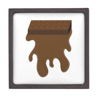 Base de barre de chocolat boîte à bijoux de première qualité