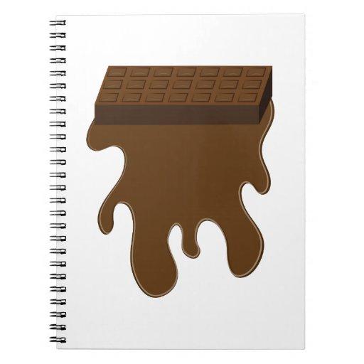 Base de barre de chocolat carnet