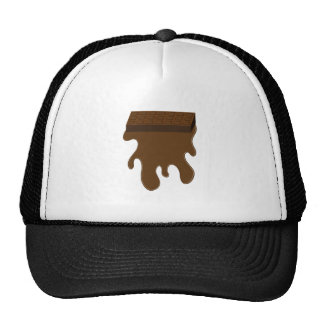 Base de barre de chocolat casquette