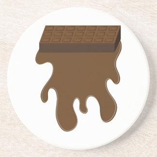 Base de barre de chocolat dessous de verre