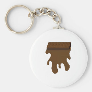 Base de barre de chocolat porte-clefs