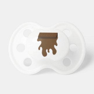 Base de barre de chocolat sucettes pour bébé