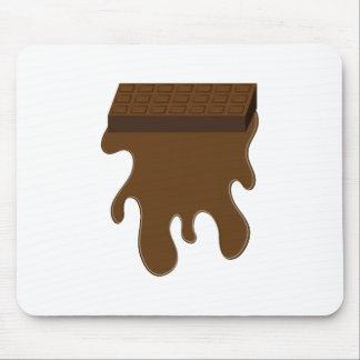 Base de barre de chocolat tapis de souris