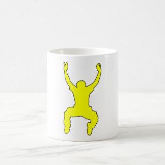 BASE Jumper Silhouette Free Falling Jump Mug