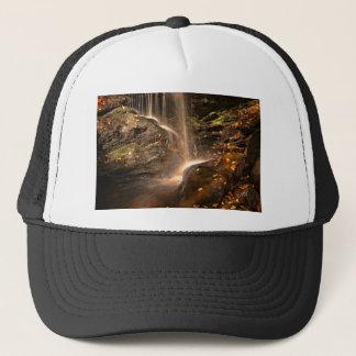 Base of Trap Falls in Autumn Trucker Hat