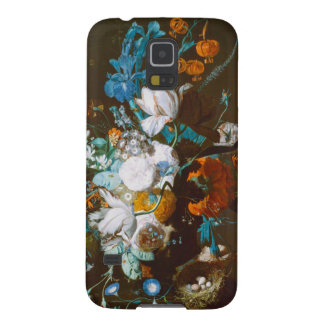 Base with Flowers - Jan van Huysum (1720) Case For Galaxy S5