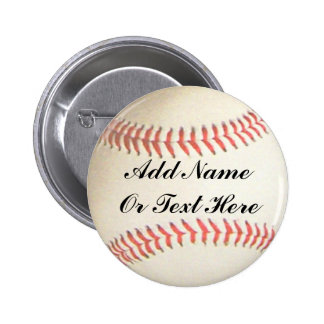 BASEBALL ADD NAME OR TEXT HERE-BUTTON